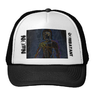 Neon Combatant Mesh Hats