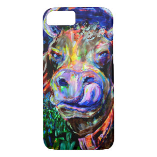 Neon Cow. Iphone 7 Case