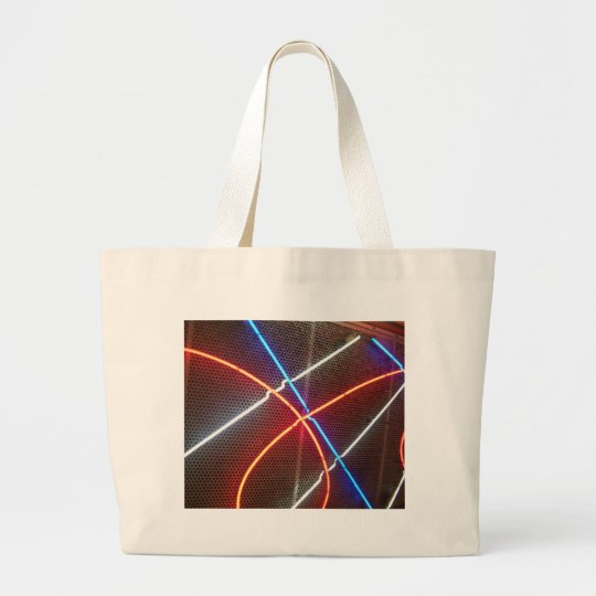 Neon - CricketDiane Art & Photography Large Tote Bag