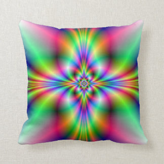 Neon Cross American MoJo Pillows