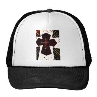 Neon cross cap