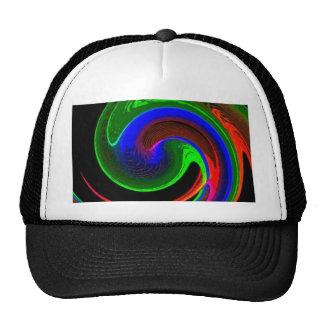 Neon Curve Trucker Hat