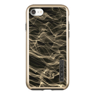 Neon Curvy Line Pattern -COOL Incipio DualPro Shine iPhone 8/7 Case