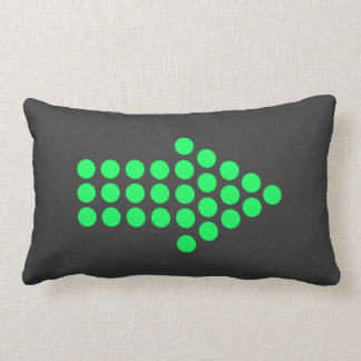 Neon cushion arrow