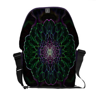 Neon Dahlia Commuter Bag