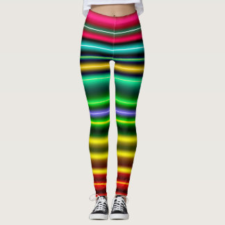 NEON DANCE PARTY LEGGINGS