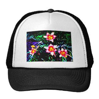 Neon Daylilies Cap