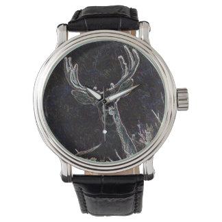 Neon Deer Watch