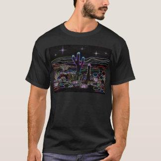 Neon Desert Stary Night T-Shirt