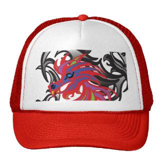 Neon Dragon Cap