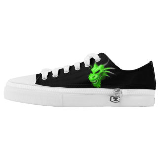 Neon Drake Low Top Shoes Printed Shoes