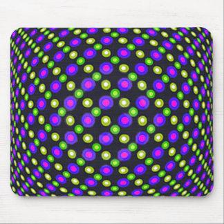 Neon effect mousemat