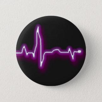 Neon EKG button