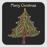 Neon Electric Christmas Tree
