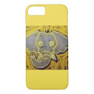 Neon Elephant iPhone 7 Case