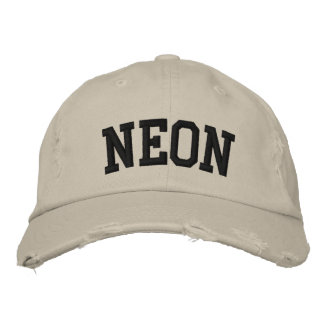 Neon Embroidered Hat Embroidered Hat