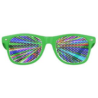 Neon Explosion Retro Sunglasses