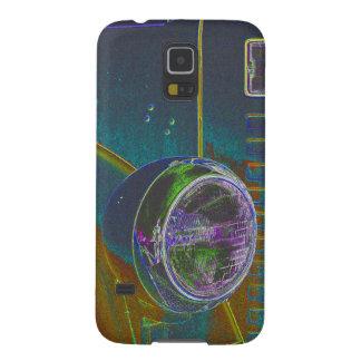 Neon Firetruck Design Galaxy S5 Cases