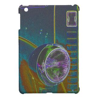 Neon Firetruck Design iPad Mini Cases