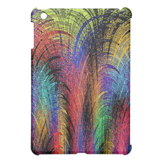 neon fireworks cover for the iPad mini