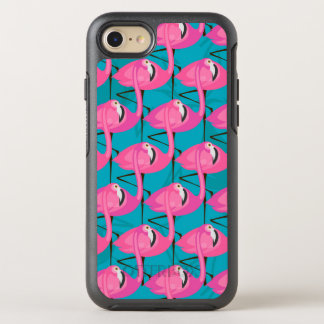 Neon Flamingos OtterBox Symmetry iPhone 8/7 Case