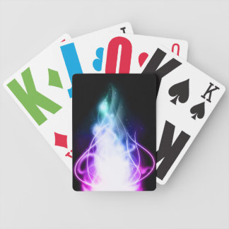 Neon Flare Playing Cards