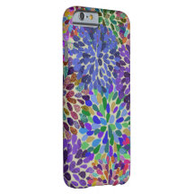 Neon Flower Bloom iPhone 6 case Barely There iPhone 6 Case