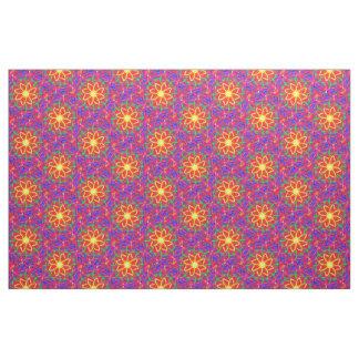 Neon Flower Fabric