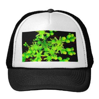 Neon Flower Mesh Hat