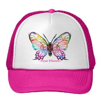 Neon Flutters - Designer Cap Trucker Hat