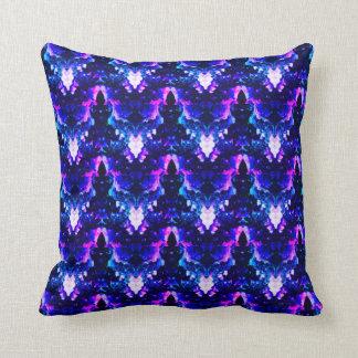 Neon Garden Delight Cushion