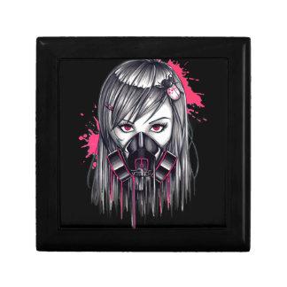 Neon Gas Mask Girl Gift Box