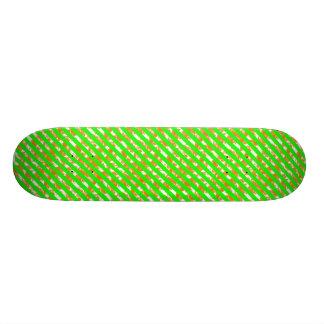 Neon Geometric Board Skateboard