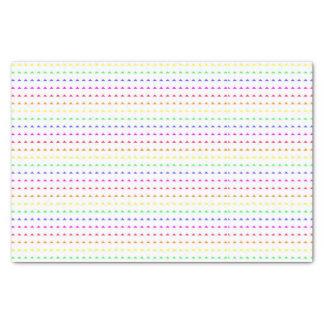 Neon Geometric Pattern - Cute Neon Print Tissue Paper