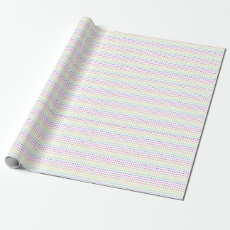 Neon Geometric Wrapping Paper