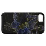 Neon Glow Daylily Flower iPhone 5 Cover