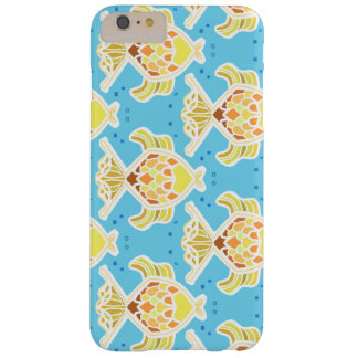 Neon goldfish fun barely there iPhone 6 plus case