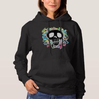 Neon Graffiti Skull Shirt