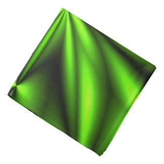 Neon Green Abstract Fractal Bandana