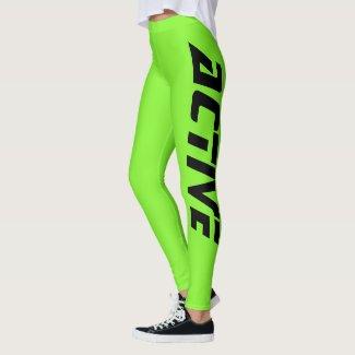 Neon Green Active Sport