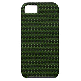 Neon Green Alien Head Design iPhone 5 Cases