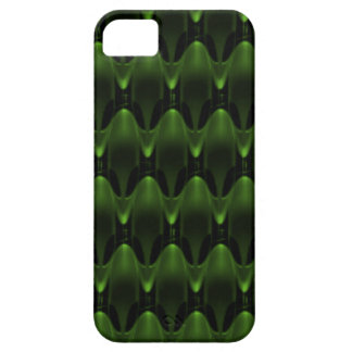 Neon Green Alien Head Design iPhone 5/5S Case