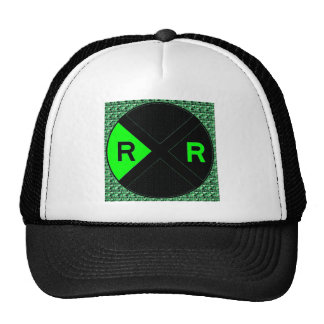 Neon Green And Black Hats