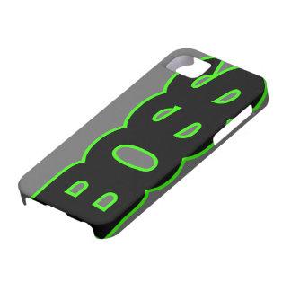 Neon Green BOSS iPhone 5 Cases