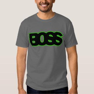 Neon Green BOSS Tee Shirts