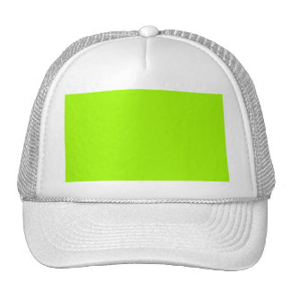 Neon Green Color Only Custom Products Cap