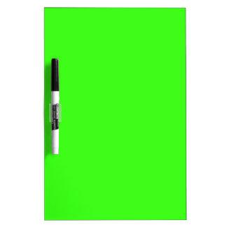Neon Green Dry Erase Board