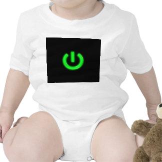 Neon Green Flourescent Power Button Creeper