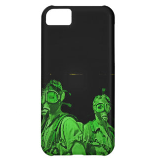 Neon Green Gas Masks iPhone 5C Cases