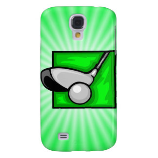 Neon Green Golf Galaxy S4 Case